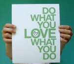 do what you love what you do on paper