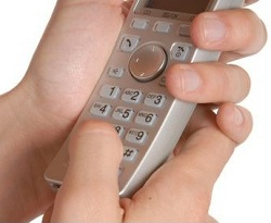 getting back in touch dialing a phone