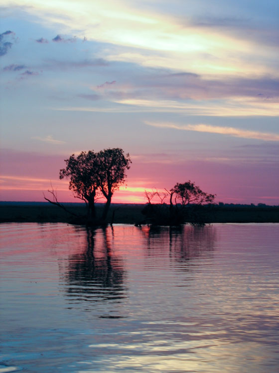 Chobe River - Botswana-Namibia Border