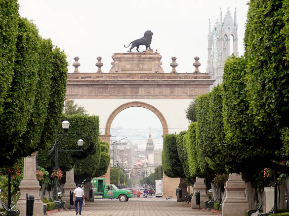 The Arch in Leon, Mexico
