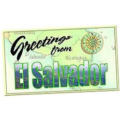 el salvador postcard box