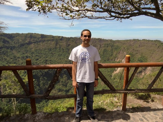 Me At The Volcano