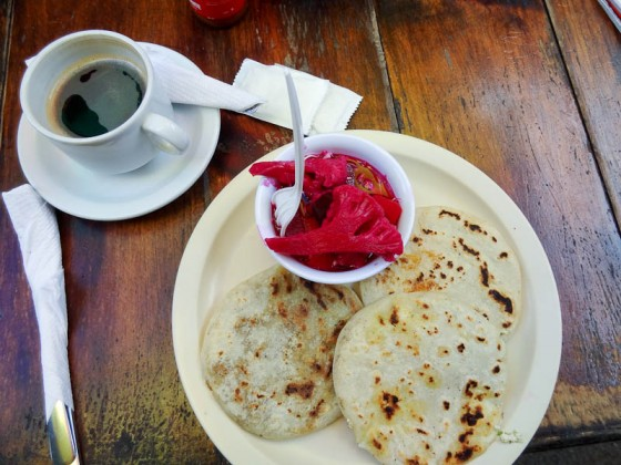 Pupusas - Corn Tortilla Filled With Something