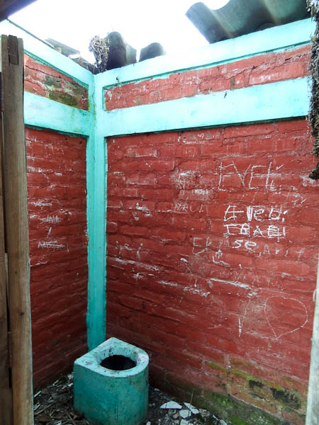 Bathroom With No Roof