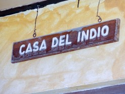 Casa del Indio Sign