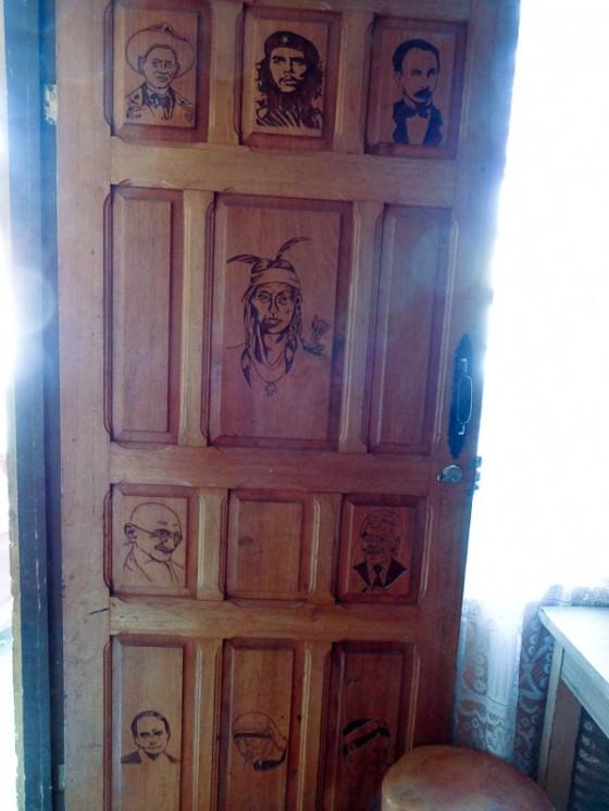 Casa del Indio Front Door