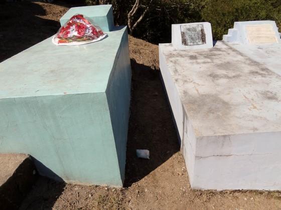 Diaper In A Cemetery