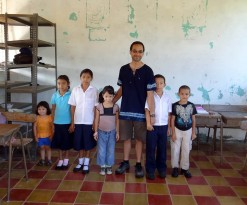 Me With A Class In Yoloaiquin, El Salvador