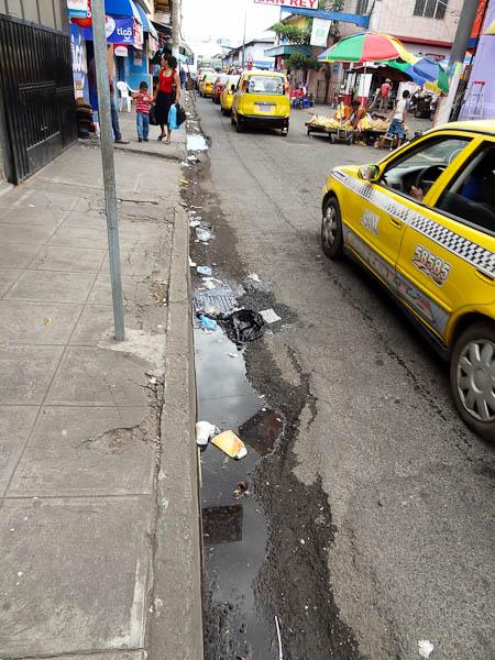 No Garbage Can In San Miguel, El Salvador