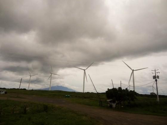 Wind Farm In Nicaragua