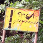finca amanecer sign