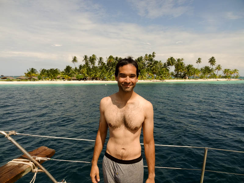 Before Diving Off The Boat