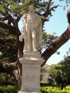 Bolivar Statue In Santa Marta