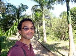 Me In Bolivar Botanical Garden