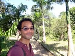 Me In Bolivar Botanical Garden