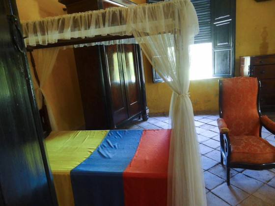 Bolivar's Final Bedroom