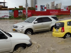 Flooding In Cartagena