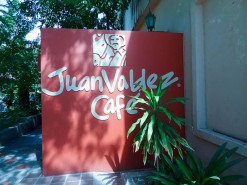 Juan Valdez Cafe in Santa Marta Colombia