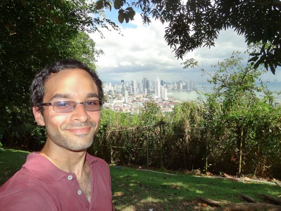 Me With Panama City From Cerro Ancon