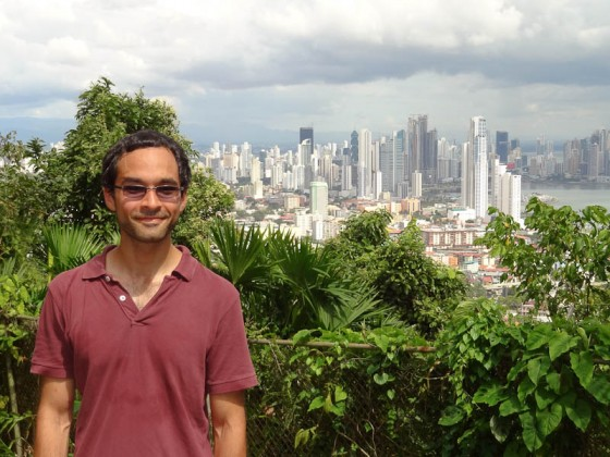Me With Panama City Skyline From Cerro Ancon