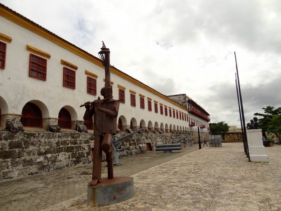 Old City - Fort With Statue
