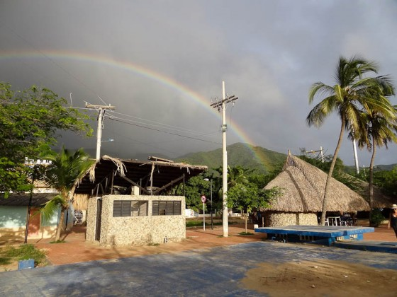 Rainbow in Taganga