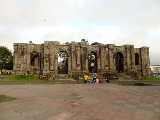 Ruins In Cartago