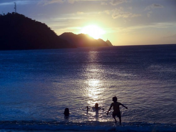 Sunset In Taganga