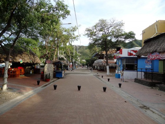 Taganga One Street Town