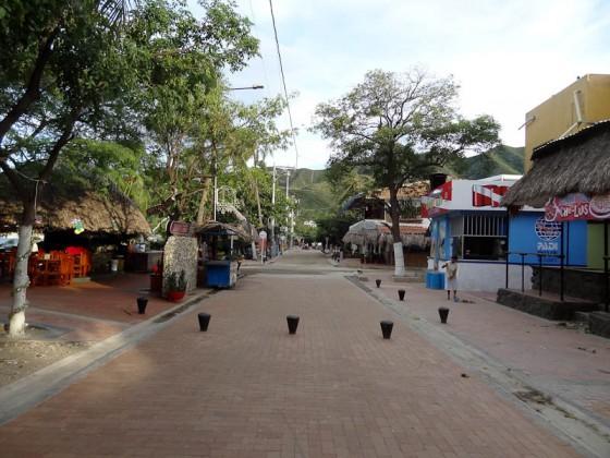 Taganga One Street Town