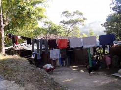 My Clothes Hanging To Dry In El Salvador