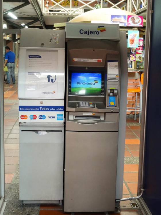 ATM In Colombia