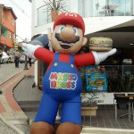 Inflated Mario - Taken Jan 22, 2012 - Guatape, Colombia