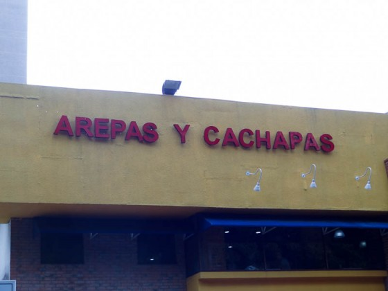 Arepas And Cachapas