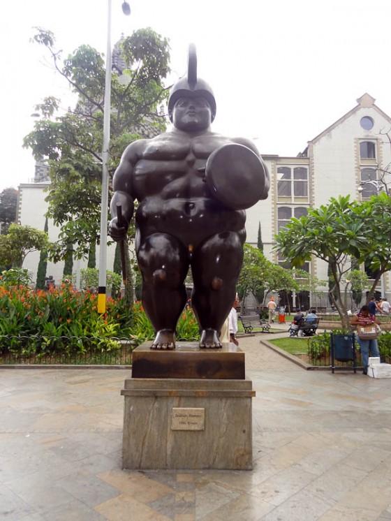 Botero Statues
