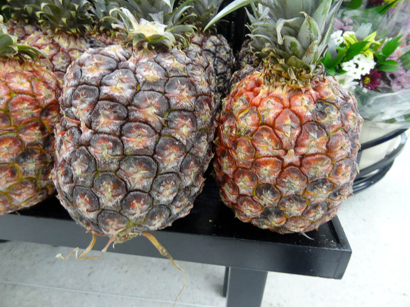 Dark And Red Pineapples