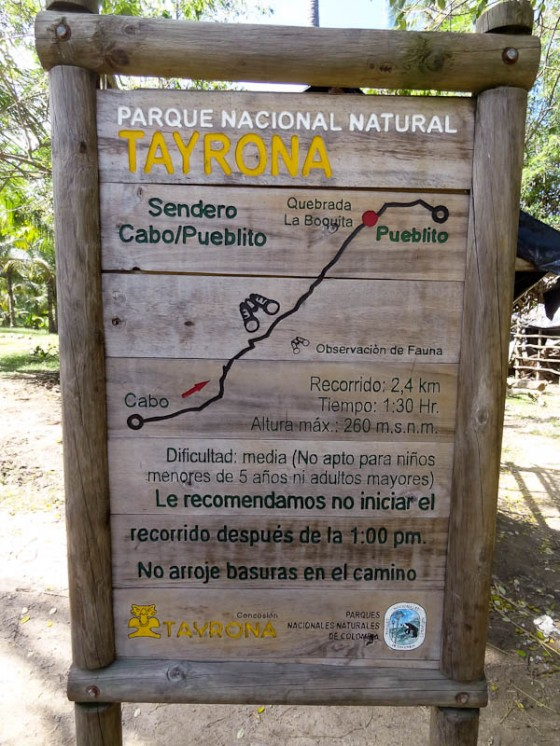 The Route To El Pueblito