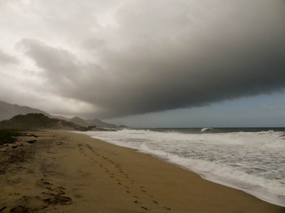 The Storm Affecting Only Tayrona