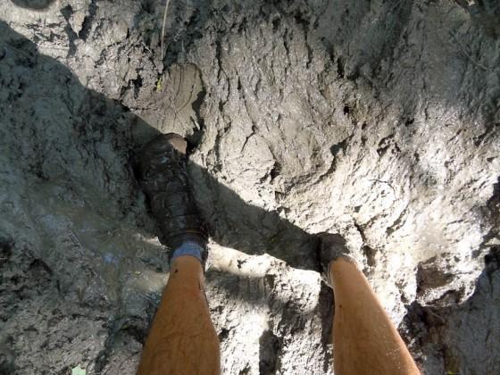 Very Muddy!