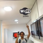 WiFi Zone.. In A Bathroom