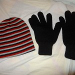 Ready For The Cold - Just Bought Handmade Gloves And A Hat From Some Ecuadorian Artis...