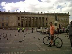 Biking In Bogota