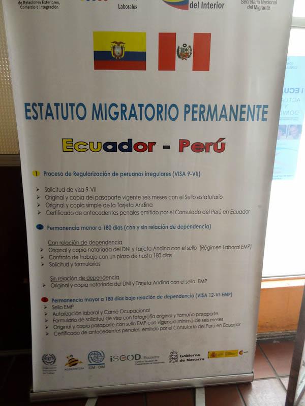 Ecuador-Peru Agreement