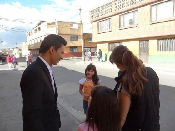 Fans In The Street