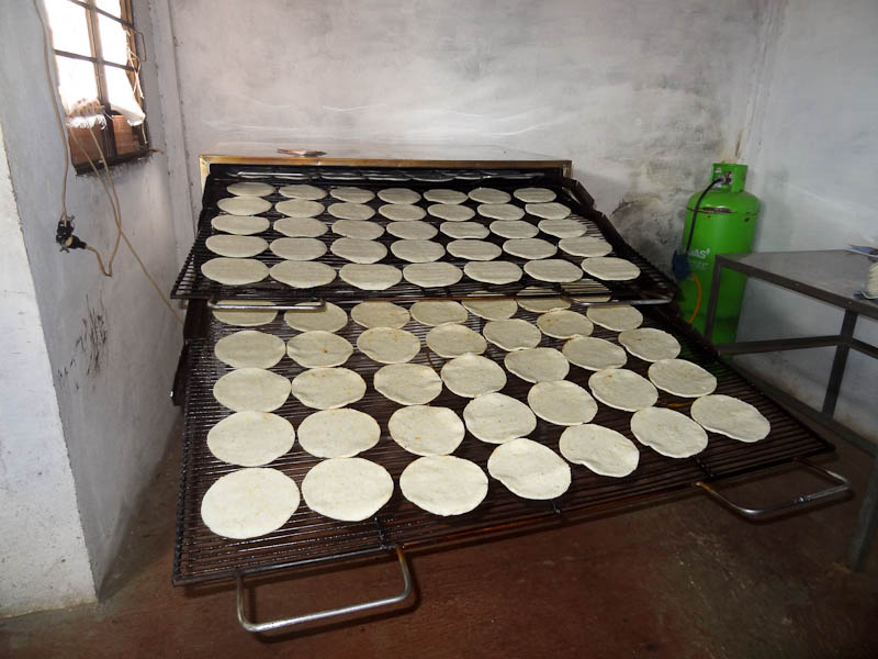 Fresh Arepas From The Oven