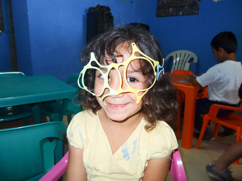 Glasses She Created