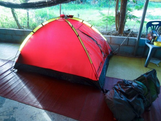 My Tent In Thailand
