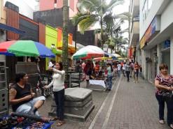 Street Market In Pereira