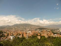 Medellin From Pueblito Paisa