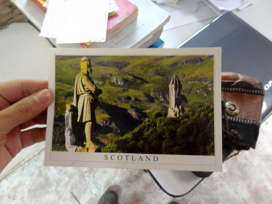 Stirling, Scotland Postcard